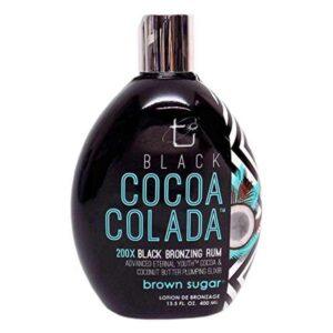 BLACK COCOA COLADA Bronzing Rum